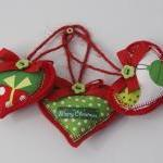 Christmas Heart Decoration..