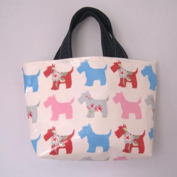 Scoiit dog bag (red&blue)